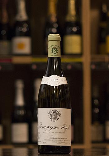 ドメーヌ・ラモネ ブルゴーニュ・アリゴテ 2012(Dmaine Ramonet Bourgogne Aligote) 750ml