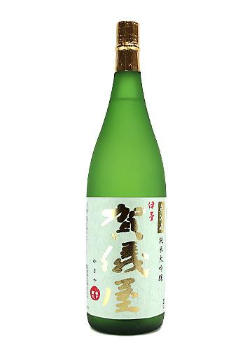 賀儀屋(かぎや) 無濾過 純米大吟醸 グリーンラベル 1800ml