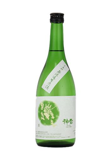 【R2BY新酒】神雷(しんらい) 純米酒 千本錦(せんぼんにしき) 無濾過生原酒 720ml