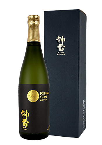 神雷(しんらい) BLACK RISING SUN(ブラックライジングサン) 純米大吟醸 中取り 720ml