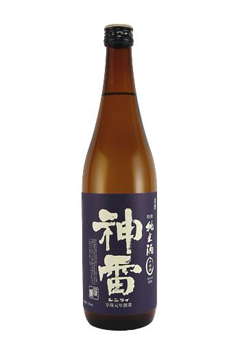 神雷(しんらい) 特別純米 千本錦 720ml
