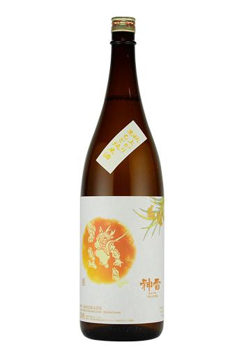 神雷 秋上がり 生もと純米酒 1800ml