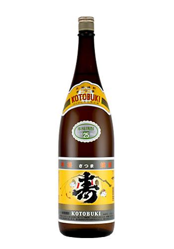 さつま寿(ことぶき) 芋焼酎25° 1800ml