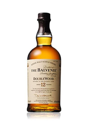 シングルモルトウイスキー バルヴェニー 12年 ダブルウッド 700ml (THE BALVENIE)