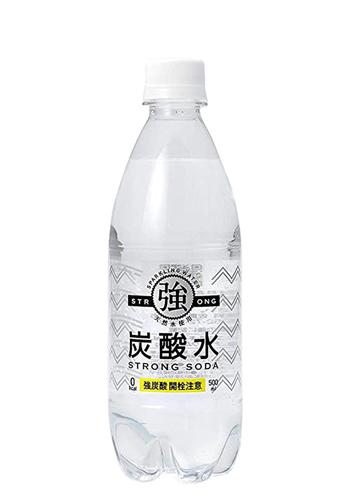 友桝飲料 強炭酸水500ml