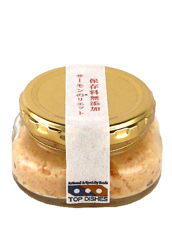 TOP DISHES(トップディッシュ) サーモンのリエット(Rillettes) 90g