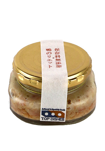 TOP DISHES(トップディッシュ) 鴨のリエット(Rillettes) 90g