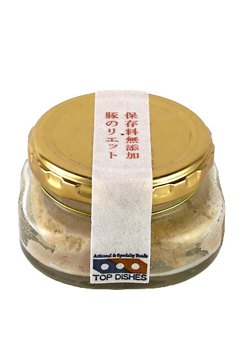 TOP DISHES(トップディッシュ) 豚のリエット(Rillettes) 90g