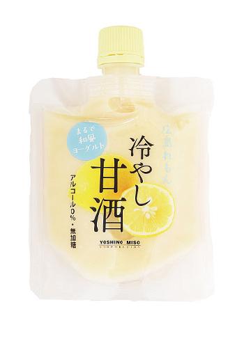 【よしの味噌】 広島れもん 冷やし甘酒 130g