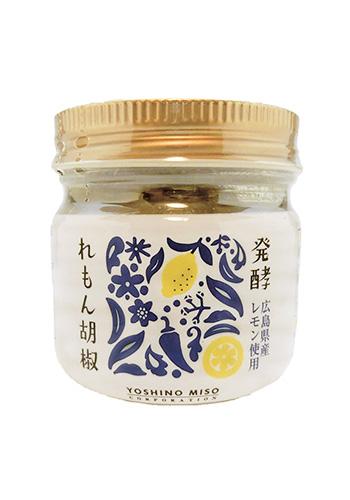 【よしの味噌】 発酵れもん胡椒 80g