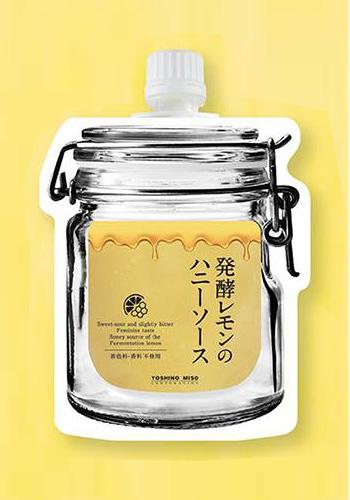 【よしの味噌】 発酵レモンのハニーソース 180g