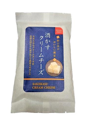 【三原食品】 酒かすクリームチーズ 75g