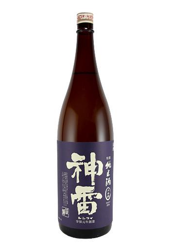 神雷(しんらい) 特別純米 千本錦(せんぼんにしき) 1800ml