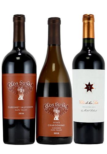 【世界中で高評価】アルゼンチンワイン&【リッチパワフル】カリフォルニアワイン3本セット(赤ワイン 750ml×3本セット)
