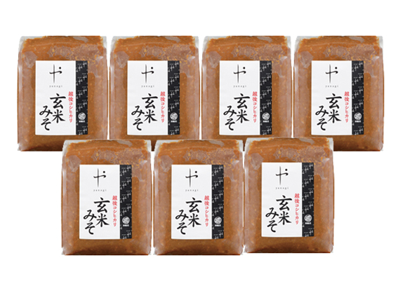 玄米みそ7袋
