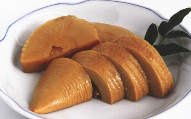 竹の子のシャキシャキ食感とたまりのうまみがバツグン!