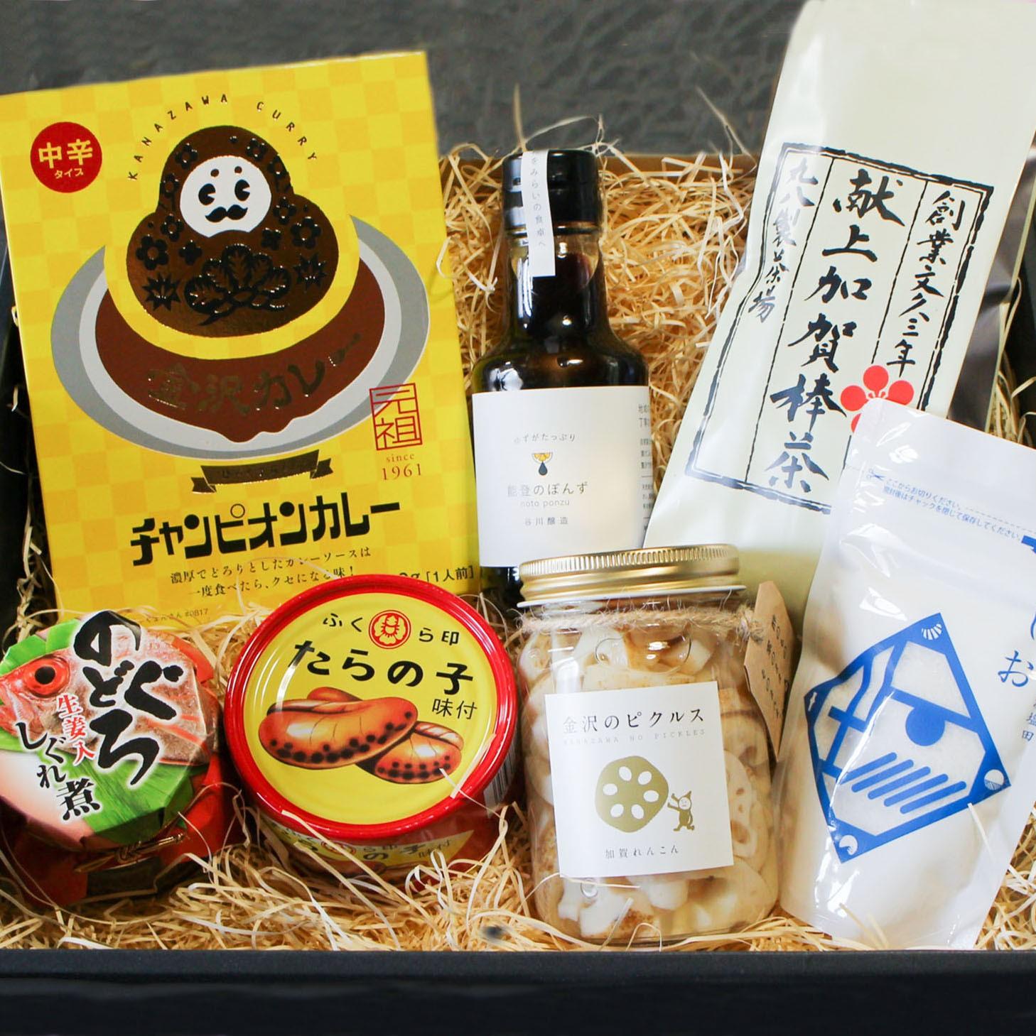 石川の食セット ギフトラッピング込
