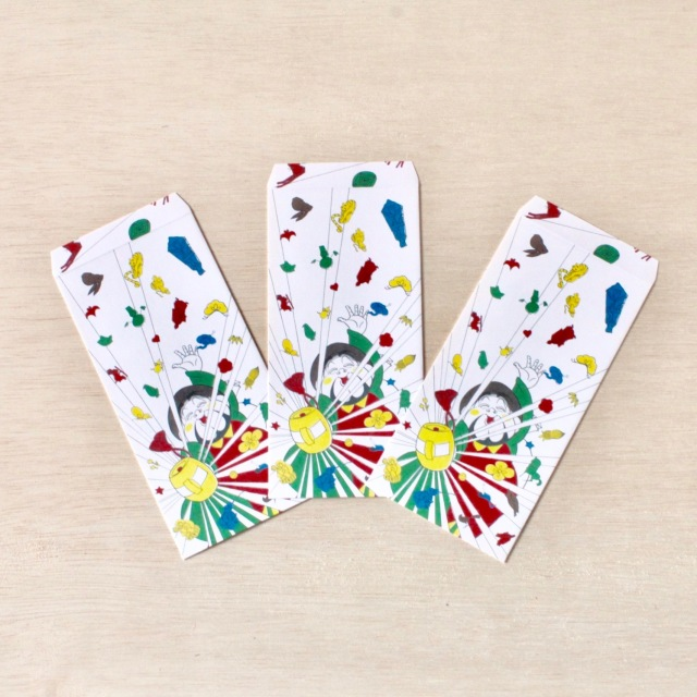 クタニシール ポチ袋(3枚入) クタニシール