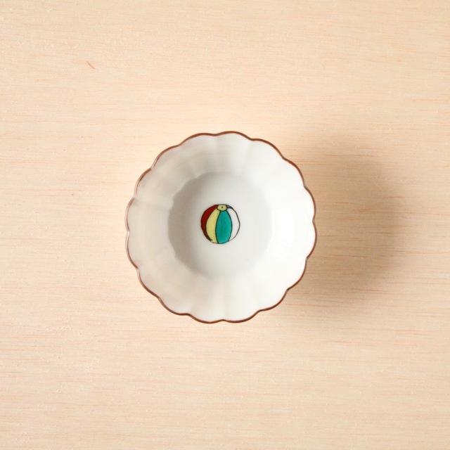 クタニシール 菊小鉢 紙風船