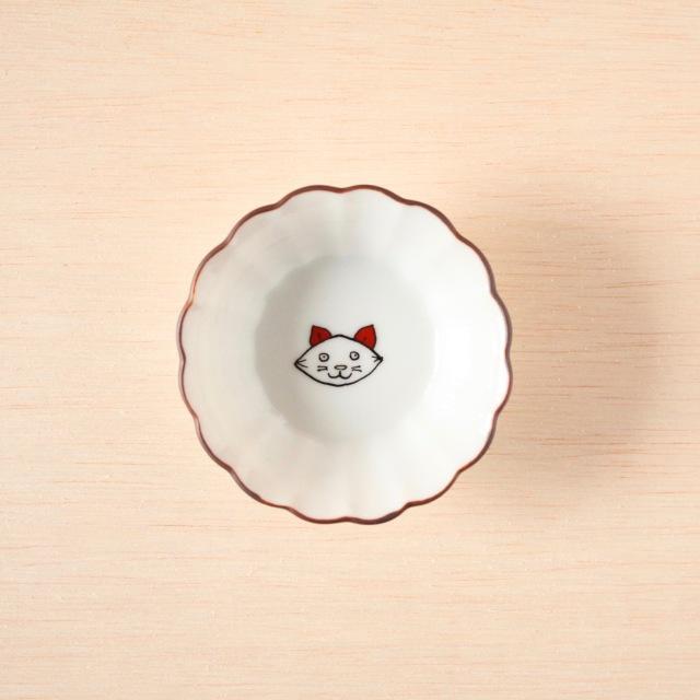 クタニシール 菊小鉢 子猫