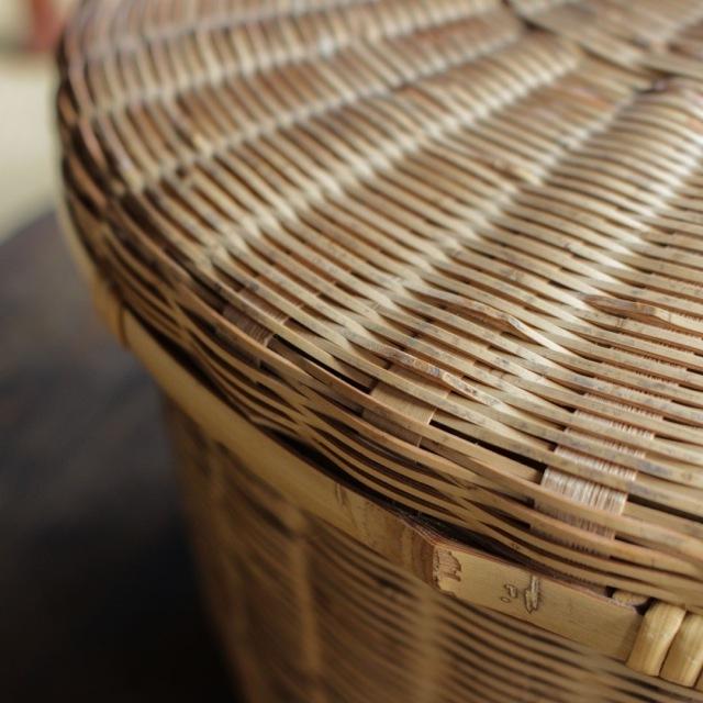 No.18 竹の飯籠(高台付き)