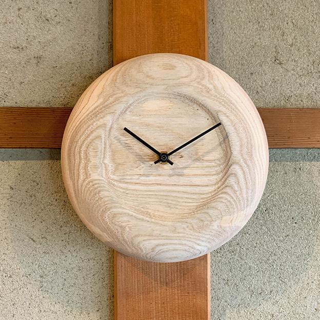 No.25 木の掛時計