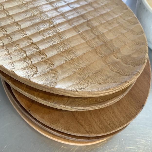 工人丸パン皿