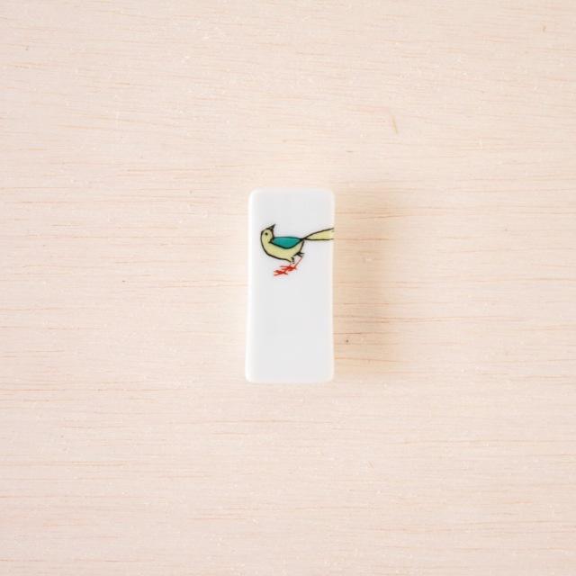 クタニシール 箸置き 小鳥