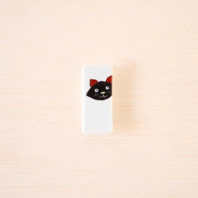 クタニシール 箸置き 黒猫