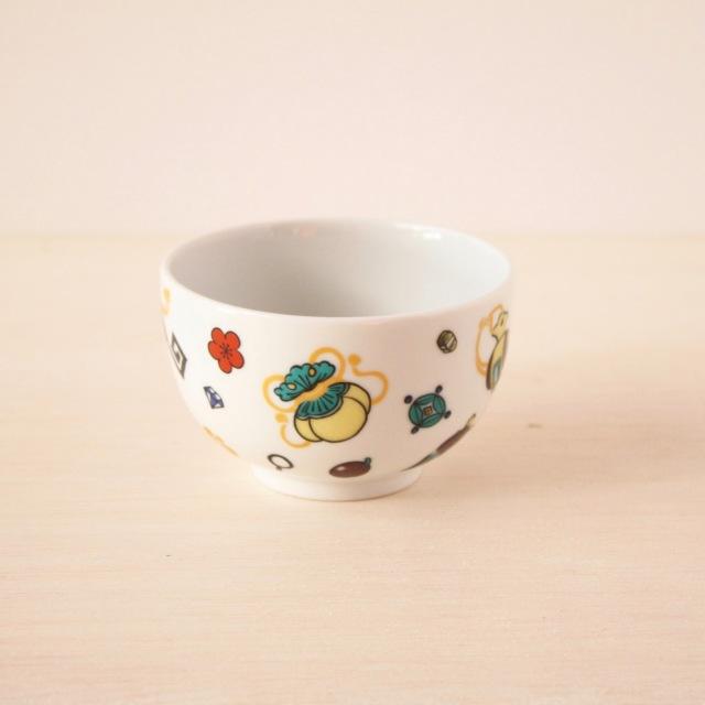 クタニシール TEA茶碗 宝づくし