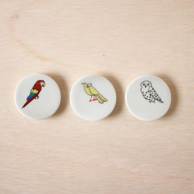 クタニシール 小鳥の箸置きC