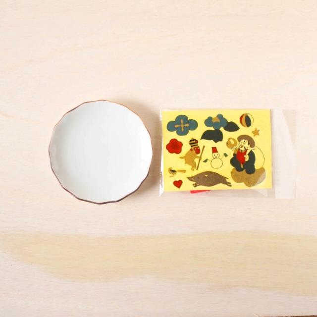 クタニシール KSキット 花型皿/大黒セット
