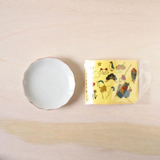 クタニシール KSキット 花型皿/恵比寿セット
