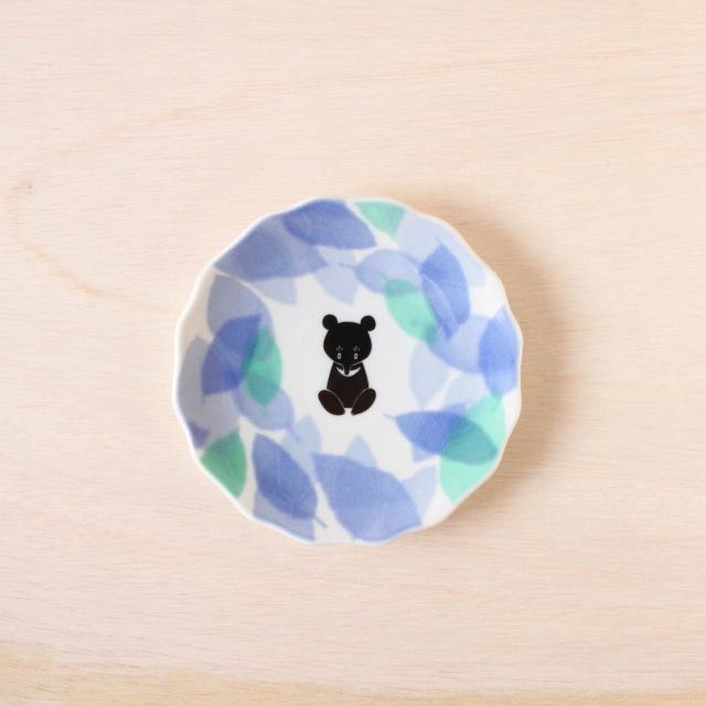 クタニシール YU by KUTANI SEAL 花型皿 はっぱ(三)