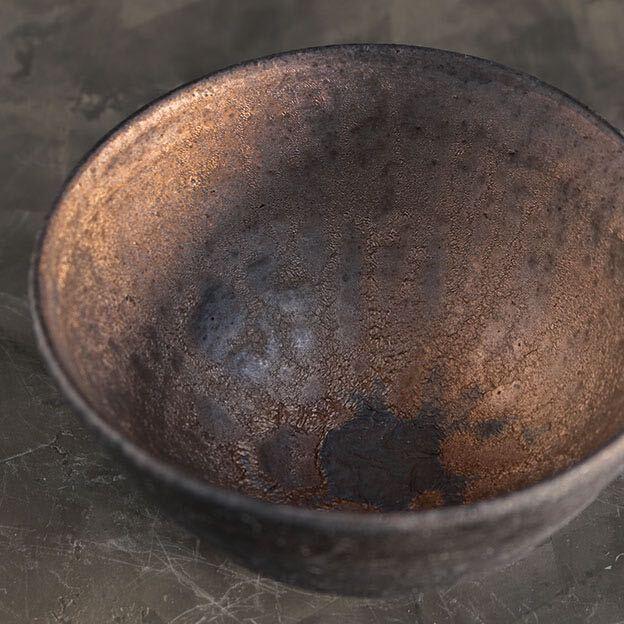 HY16金彩釉碗