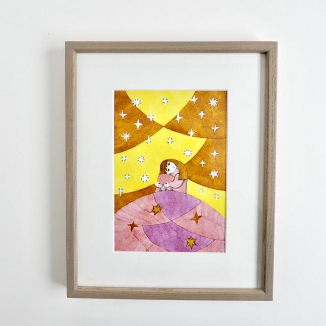 細川理衣 ガラスペン画