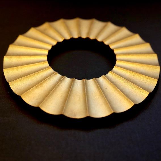 真鍮のFUTAGAMI 二上の鍋敷き 二上の箸置き
