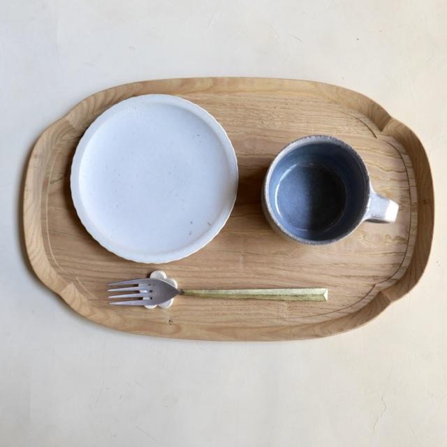 たくまポタリー おやつ皿
