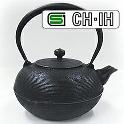 IH対応南部鉄瓶 糸目1.5L
