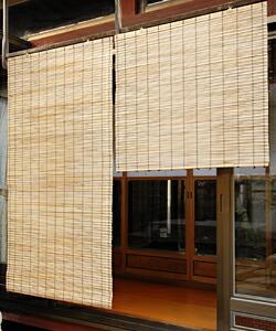 外吊りすだれ 幅88×高(約)160cm (大)