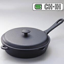 南部鉄器 フライパン(蓋付き) IH対応