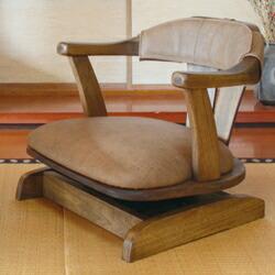 ロッキング機能搭載 回転座椅子 ザ 椅子