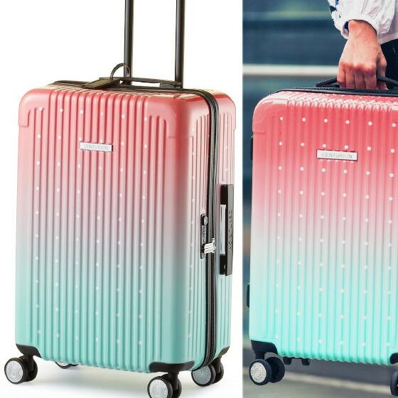 センチュリオン スーツケース ジッパータイプ LGB 中?