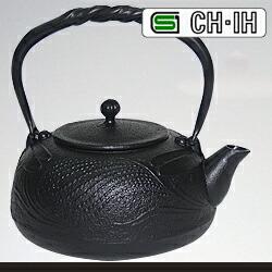 IH対応 南部鉄瓶 とんぼ 鉄蓋 1.2L