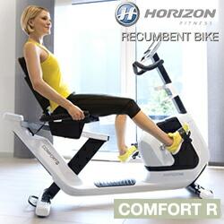 【オリジナルフロアマット付き】 HORIZON ホライズン リカンベントバイク COMFORT R 『メーカー直送品』【初期不良を除く返品・交換不可】?