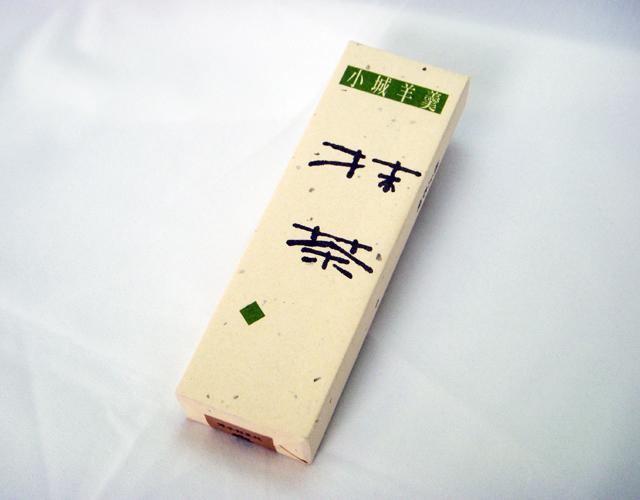 極上本煉(中) 抹茶煉 一本詰【八頭司伝吉本舗】小城羊羹 330g×1本