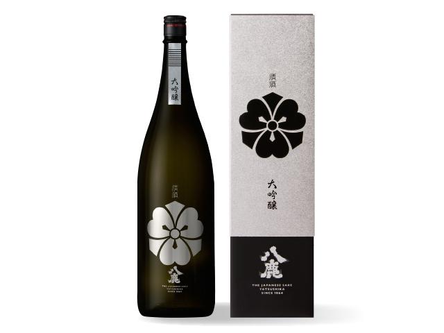 キレの、八鹿 【八鹿大吟醸(銀)】 1800ml