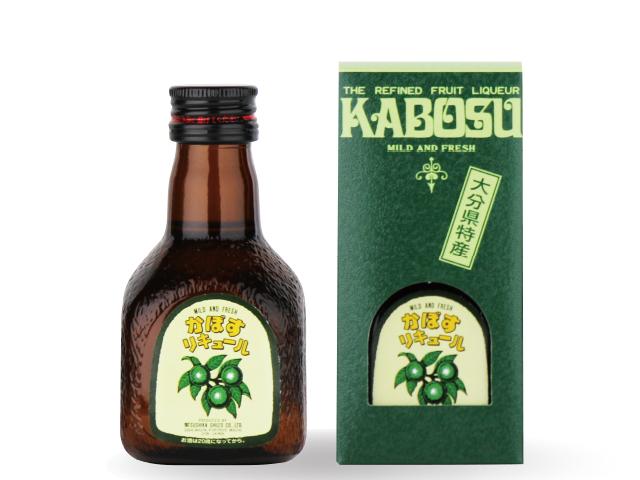天然のかぼす果汁たっぷり 【かぼすリキュール】 100ml