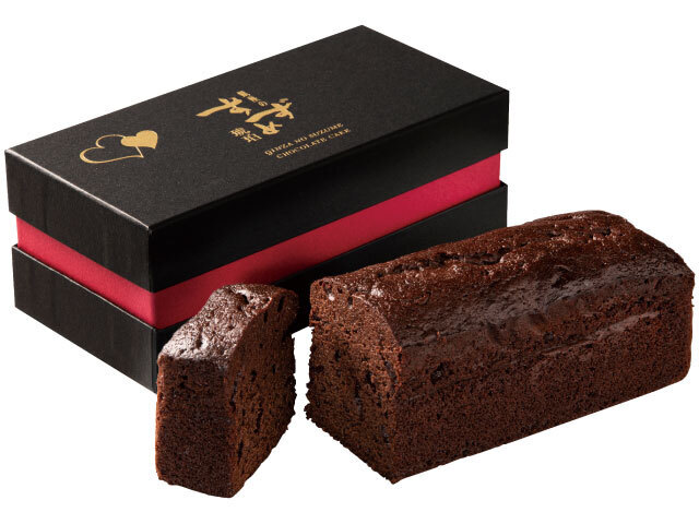 おとなのスイーツ【銀座のすずめ琥珀 チョコレートケーキ】