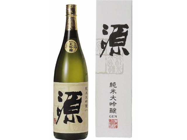 日本酒の旨味を追求した八鹿の自信作 【純米大吟醸 源】 1800ml